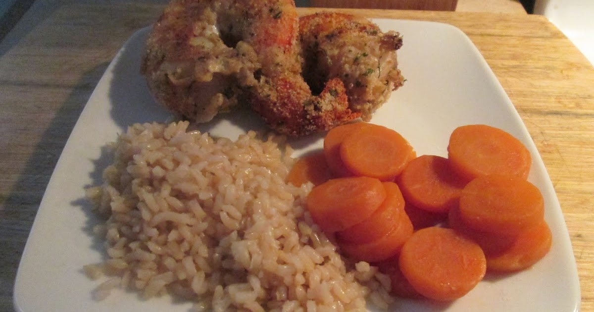 Diab2Cook: Colossal Shrimp w/ Whole Grain Brown Rice and