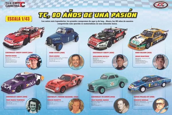 Colección Autos a Escala TC Planeta DeAgostini
