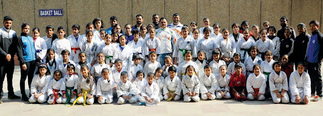 Dragon Martial Arts Academy organizes belt promotion contest, Avneet Kaur is the world's top