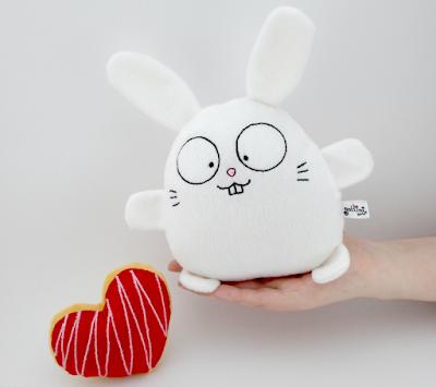 Connelo Peque, Guyuminos Mini Conejito blanco de peluche, regalo, recuerdo