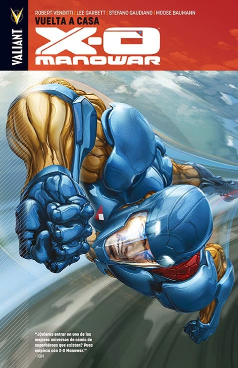 X-O Manowar Aleta Ediciones
