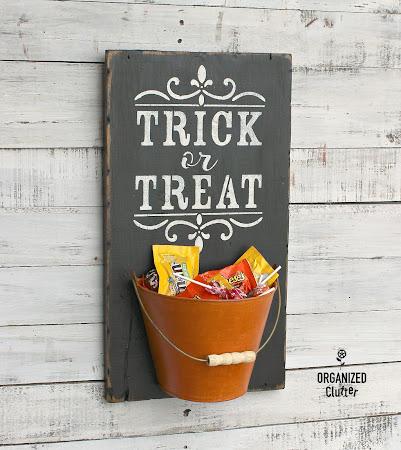 Easy Trick or Treat Decor