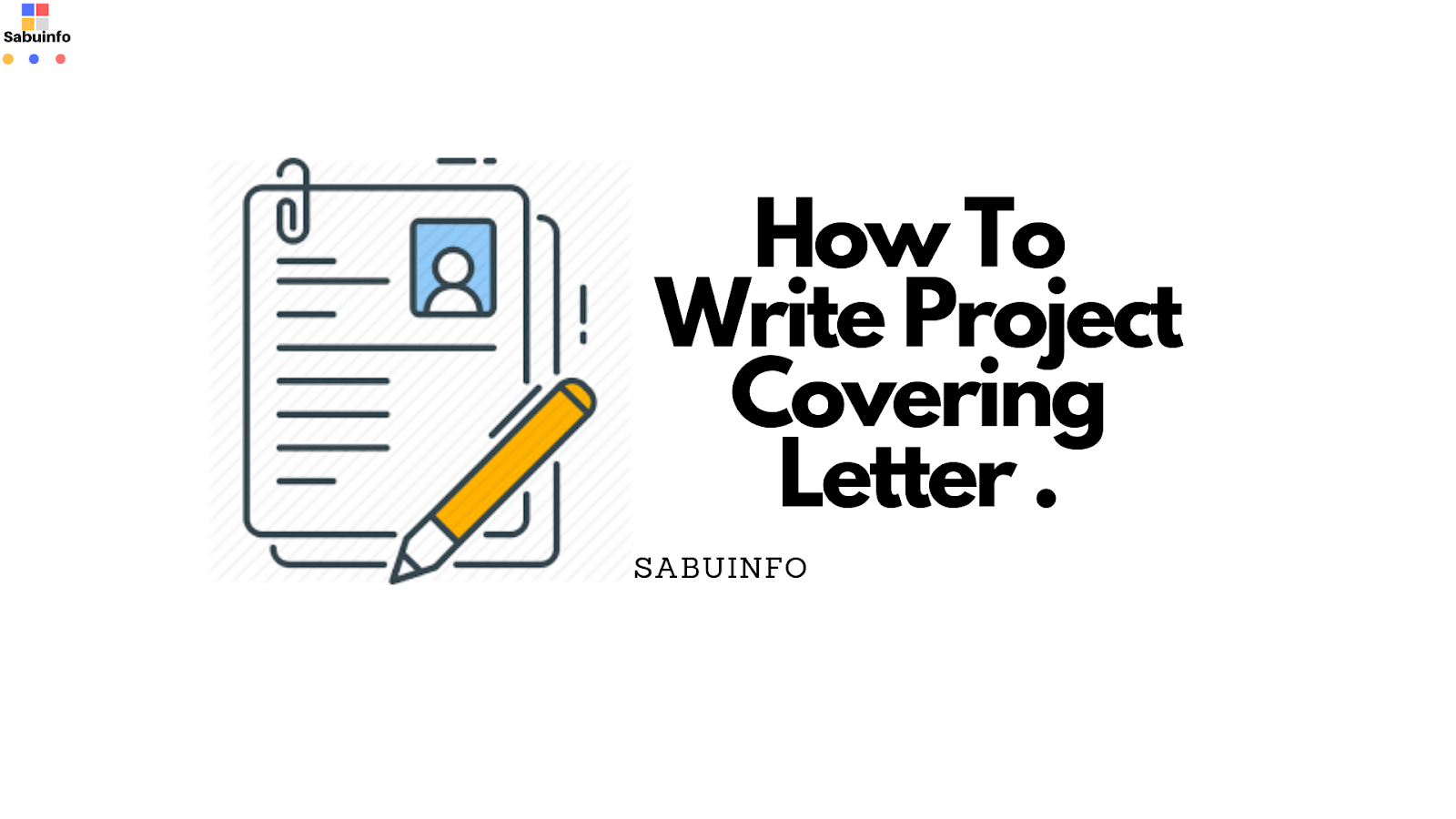 How to write a project covering letter for financial