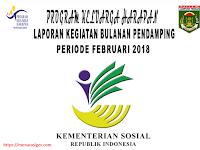 CKP (Cek List Kegaitan) dan Absensi Lampiran Laporan Bulanan Pendamping PKH 2018