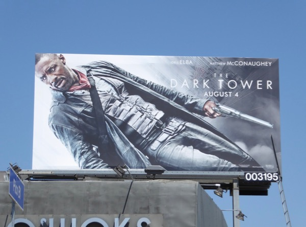 Idris Elba Dark Tower billboard