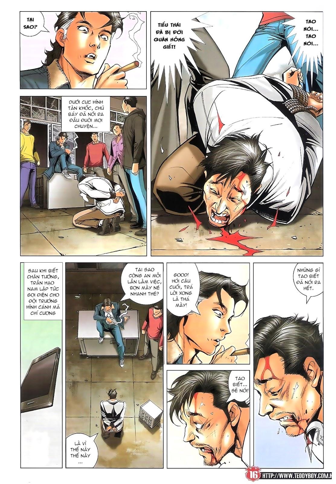 Người Trong Giang Hồ chapter 1696: giết vào vượng giác trang 15