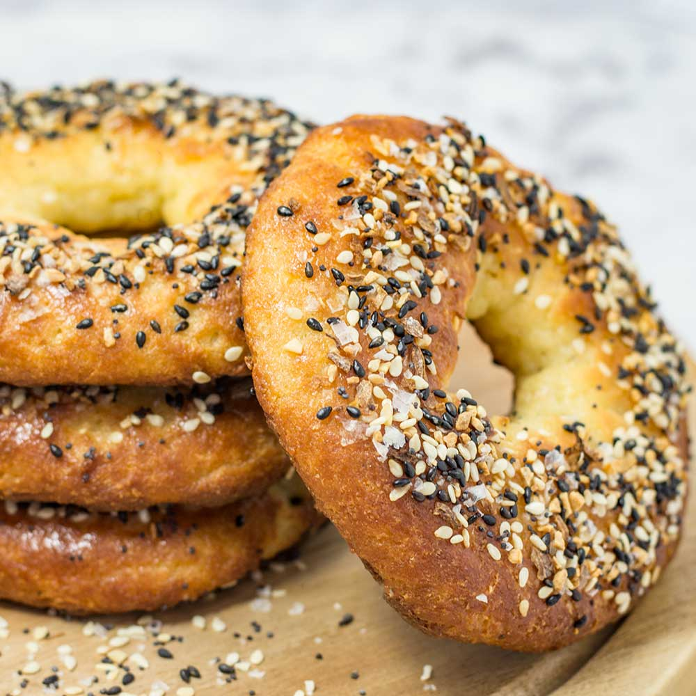 LOW CARB KETO EVERYTHING BAGELS #healthydiet #keto