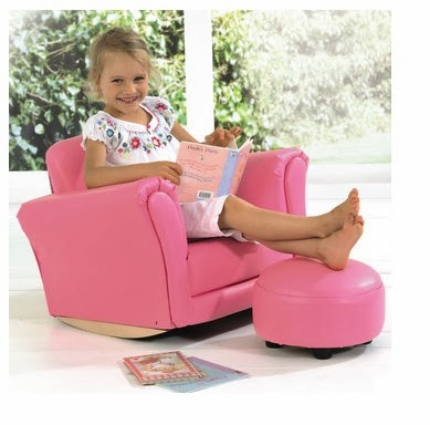 Purple Doughnuts Furniture Of The Week Rocker Chair And