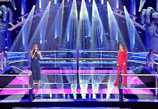 Belén y Claudia cantan Wrecking Ball de Miley Cyrus batallas la voz