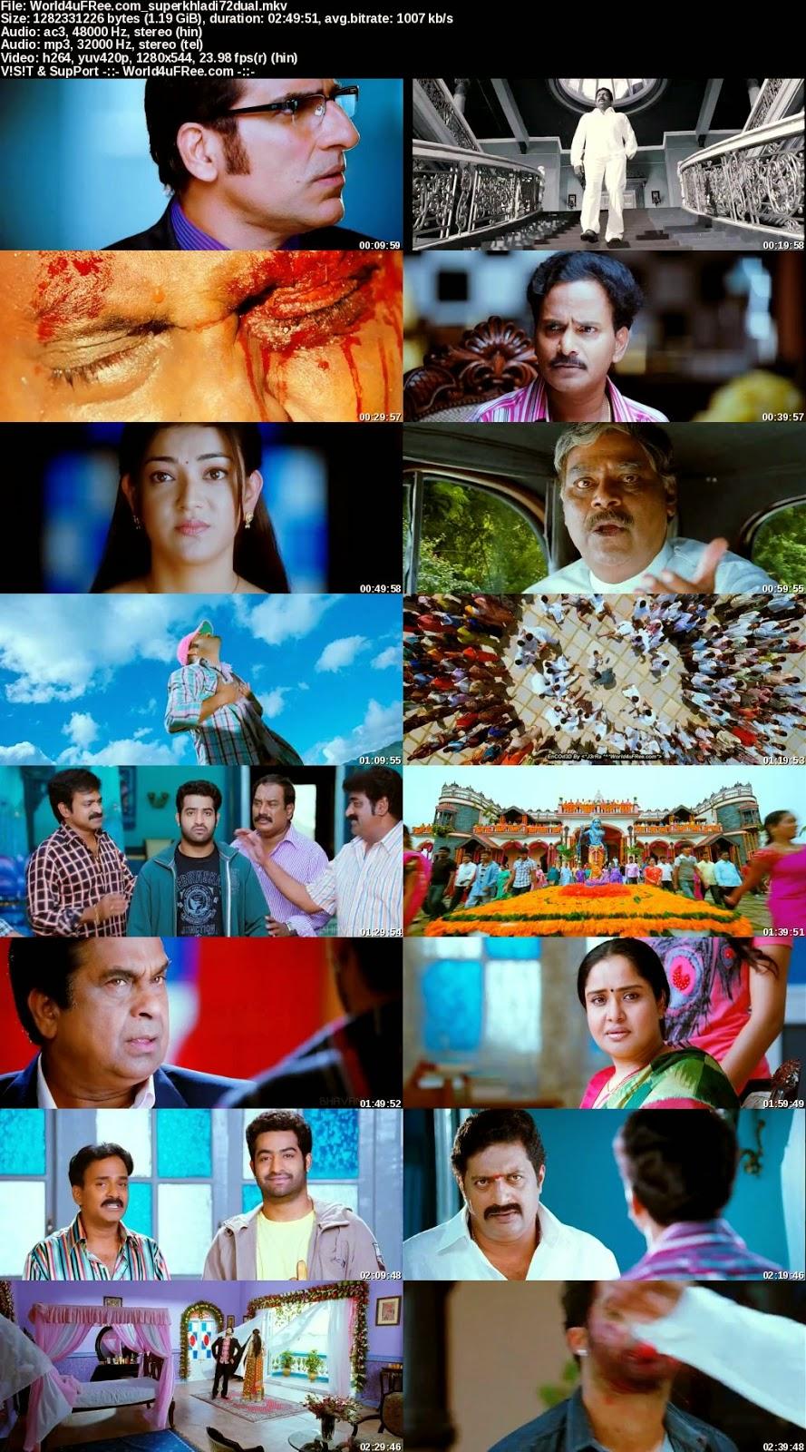 Brindaavanam 2010 720p BluRay Dual Audio [Telugu-Hindi] 1 2GB