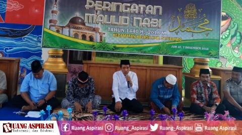 Maulid Nabi Muhammad SAW di Kecamatan Arjasa