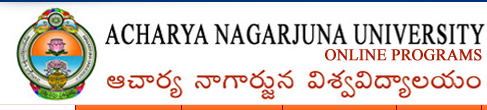 ANU Online UG & PG Courses Distance of Acharya Nagarjuna University at www.anuonline.ac.in