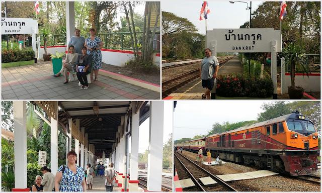 mit dem Zug nach Hua Hin