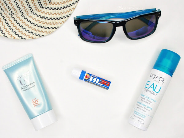 How I protect my lips from the sun this spring with Herpecin L
