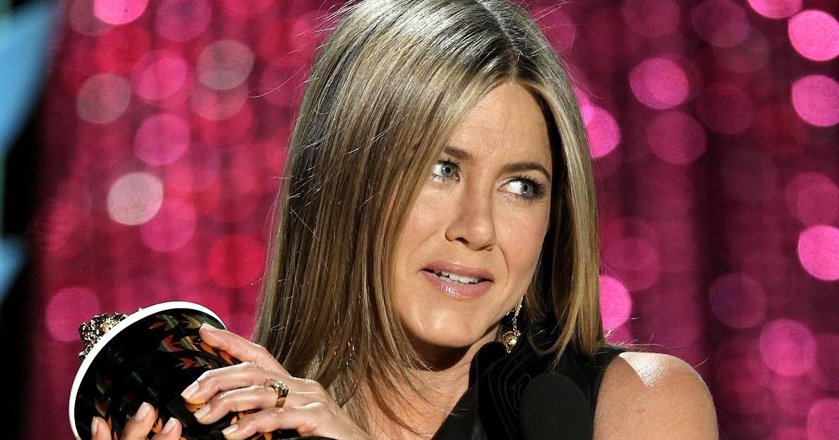 My Celebrity: Jennifer Aniston Leather Dress MTV Movies ...