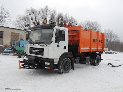 KrAZ 5401Н2 śmieciarka