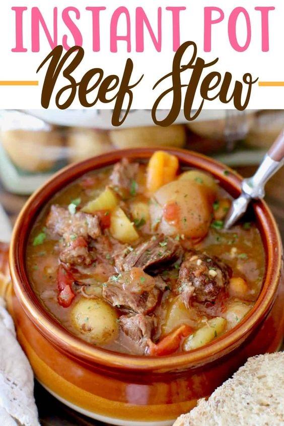 The Best Instant Pot Beef Stew