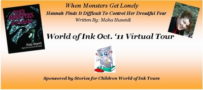 World of Ink - Guest Post with Maha Huneidi