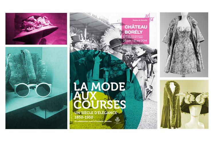 expo Musée Borély la mode aux courses costume d'époque Sud de la France