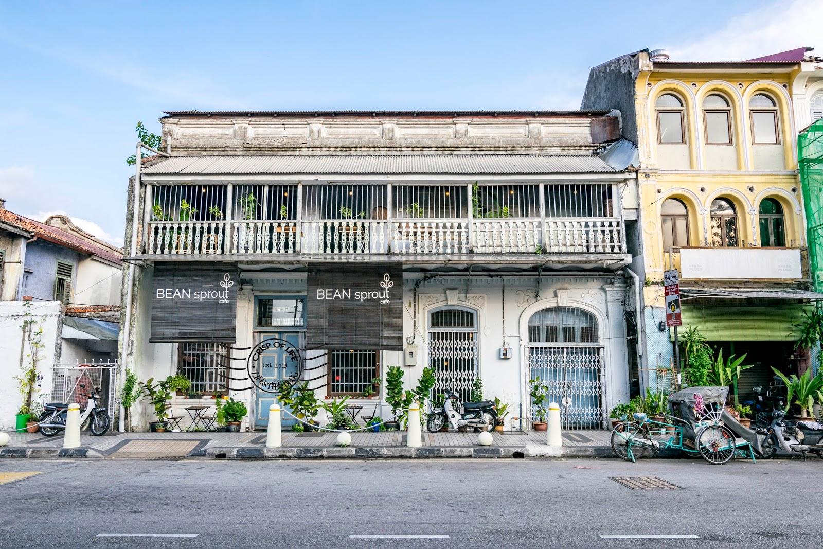 Bean Sprout Cafe Jalan Masjid Kapitan Keling Georgetown Penang