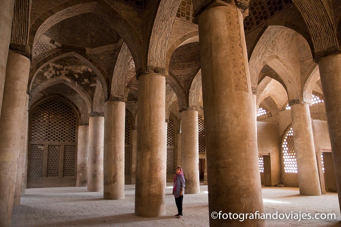 Isfahan I: la gran mezquita del viernes Jameh y el bazar