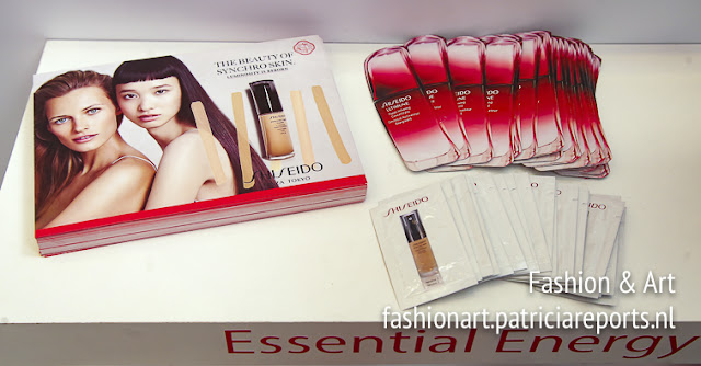 Shiseido, make up sponsor for AXDW