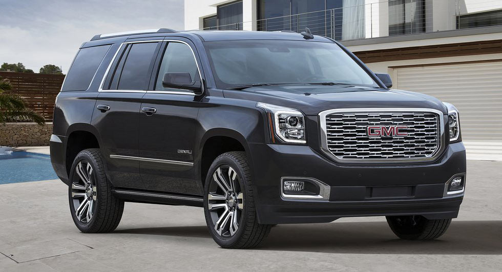 2017 Gmc Terrain Suv >> 2018 GMC Yukon Denali Gets 10-Speed Auto Gearbox, Slight Redesign