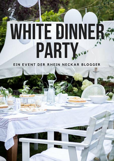 Das White Dinner Event - alle Rezepte und DIY-Ideen