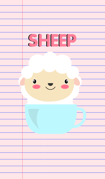 Simple Cute Sheep Theme V.2
