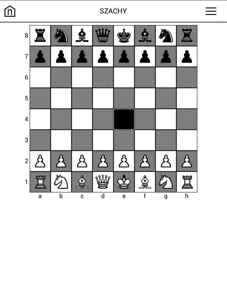 PocketBook Aqua 2 – gra w szachy