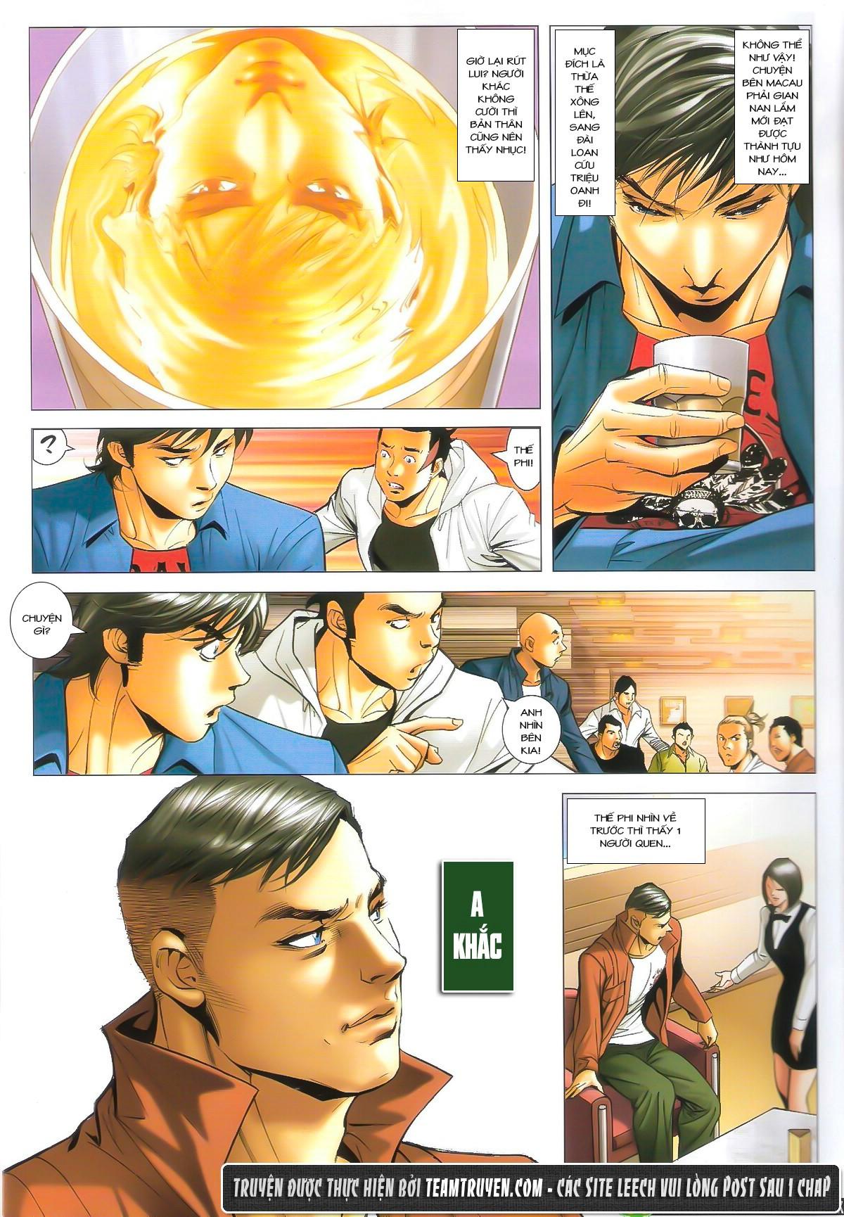 Người Trong Giang Hồ chapter 1610: a khắc giá lâm trang 13