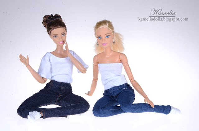Jeans for dolls.