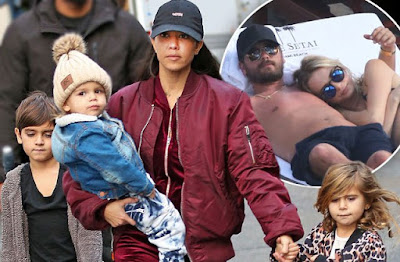 Kourtney Kardashian bans Scott Disick from seeing their kids