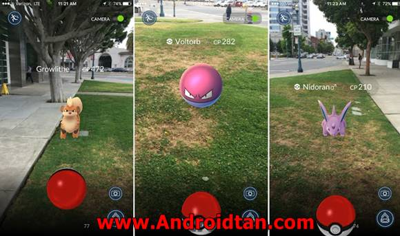 Pokemon GO Mod Apk v0.51.0 (Support Jelly Bean) Terbaru 2017 Free Download