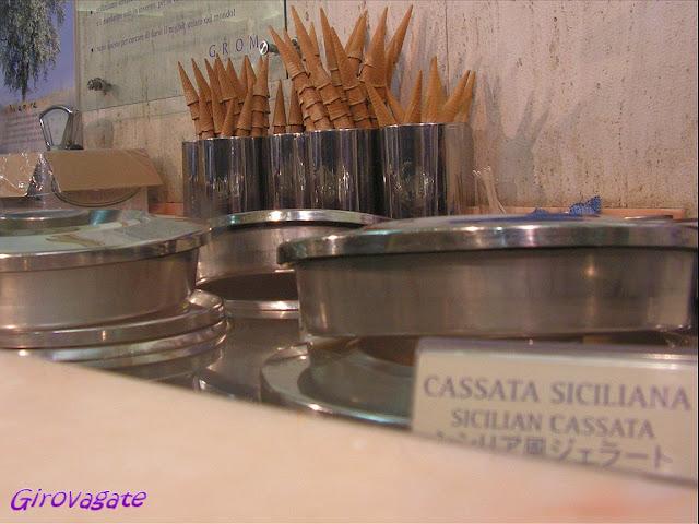 gelateria Grom a Firenze