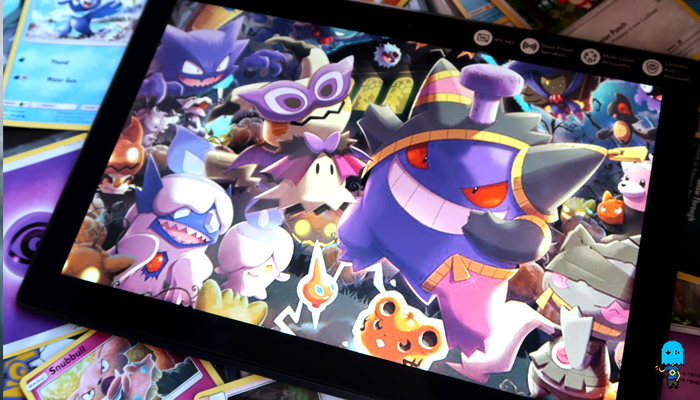Pokemon Halloween event and a new tablet?