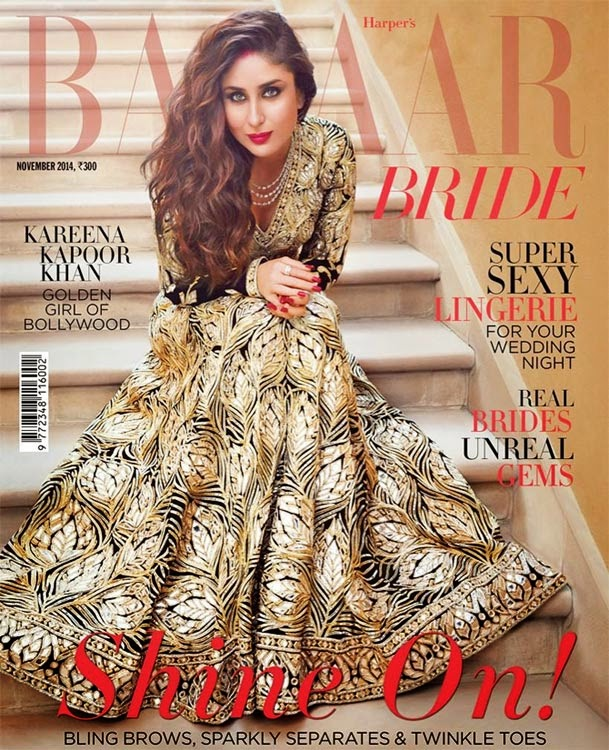 Kareena Kapoor, Bollywood Actresses on Indian Magazines November 2014 Covers