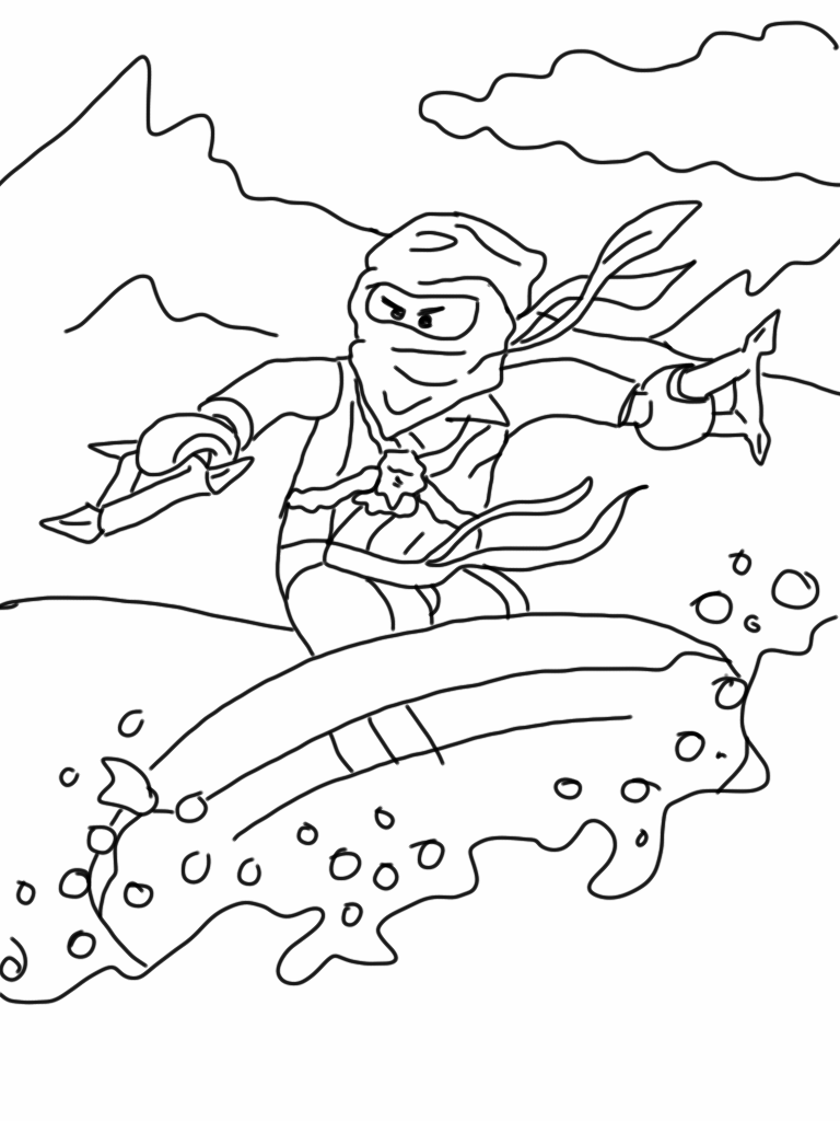Coloring Page: Lego Ninjago Coloring Pages