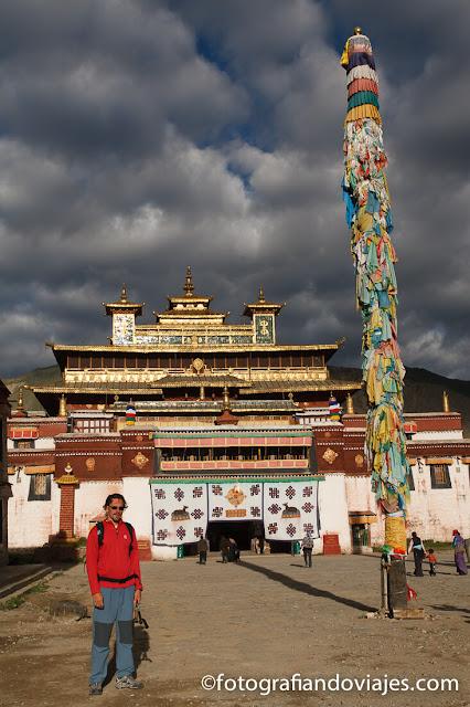 entrada monasterio de Samye en Tibet