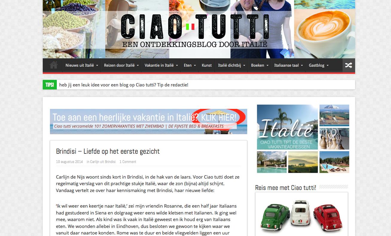 http://ciaotutti.nl/gastblog/carlijn-brindisi/brindisi-liefde-op-het-eerste-gezicht/