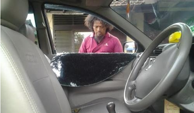 Jenguk Suami di Lapas Porong Kaca Mobil Warga Kedungbendo Dipecah Maling
