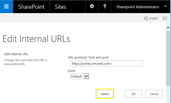 sharepoint redirect relative url