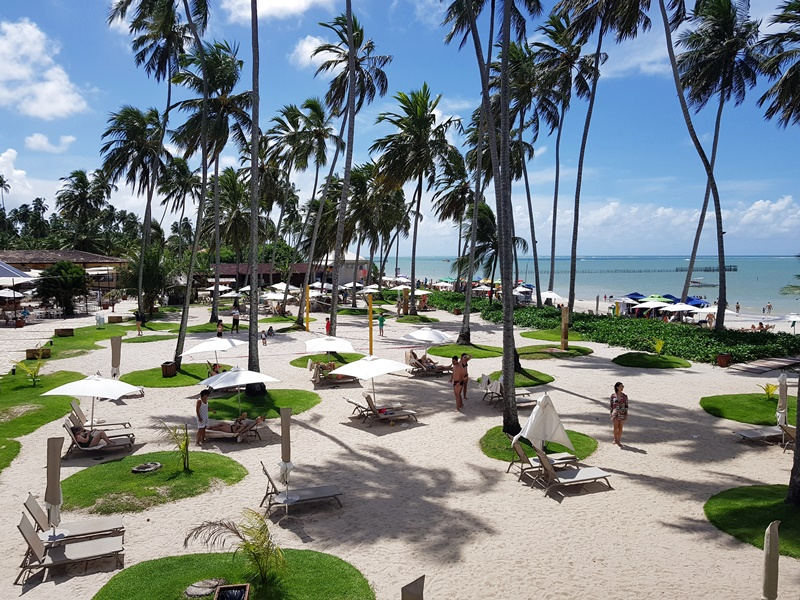 Resort All Inclusive em Alagoas- Maragogi