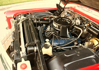 1966 Cadillac Eldorado Coupe Convertible Engine