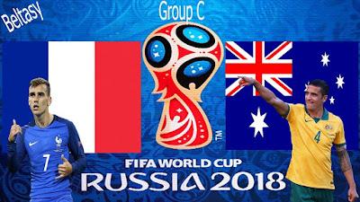 Socceroos, Les Bleus, Australia VS France, France VS Australia, Socceroos VS Les Bleus, World Cup 2018, Piala Dunia 2018,