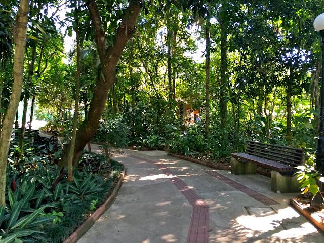 Relação parques interior de SP_Orquidário de Santos