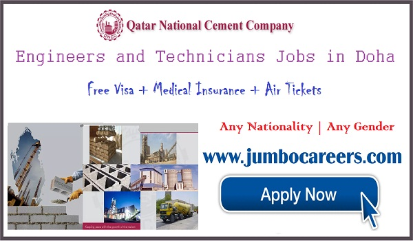 Electrician and technician jobs in Doha, Qatar jobs for Indians,