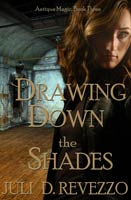 Drawing Down the Shades, Antique Magic book 3, by Juli D. Revezzo, Gothic fiction, witch fiction, pagan paranormal fiction