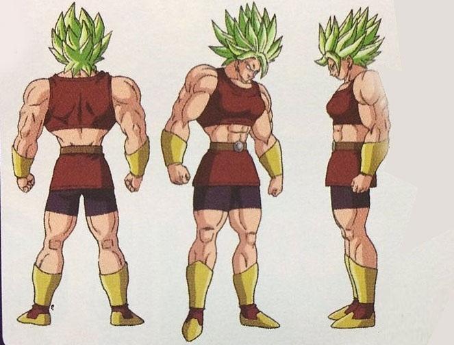 Kale Caulifla Dragon Ball Super