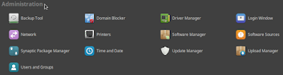 Penjelasan Control Center Linux Mint (Control Panel Linux Mint)